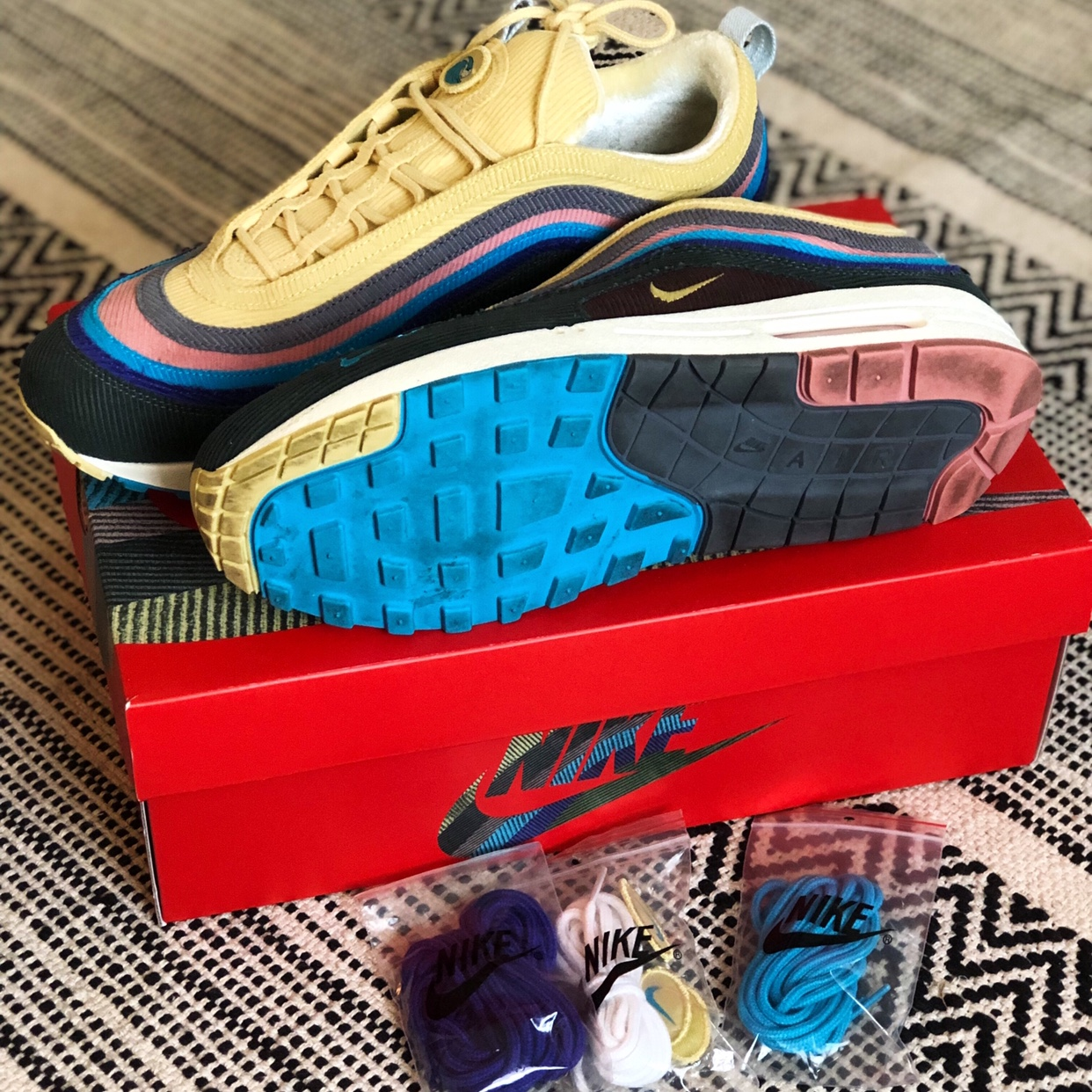 Nike Air Max 197 'Sean Wotherspoon' Lightly worn Depop