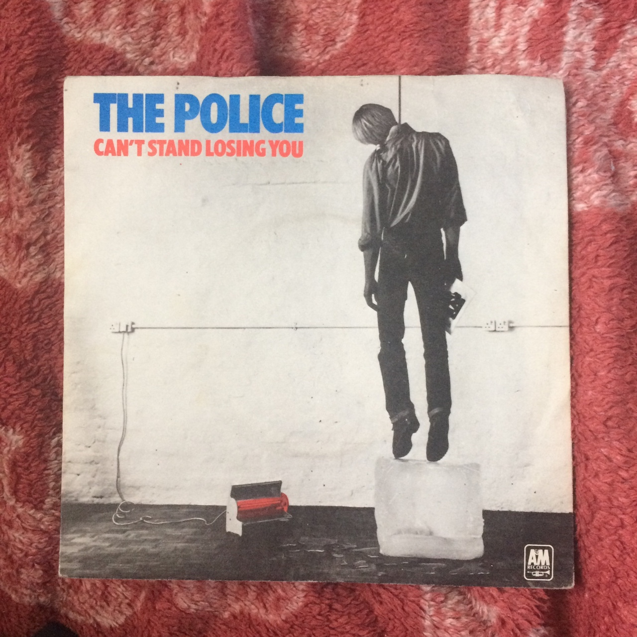 The Police Can T Stand Losing You Single On Blue Depop
