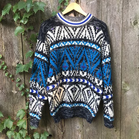 cb202c94e88 Botany 500 vintage sweater. This ones uber soft and comfy. a - Depop