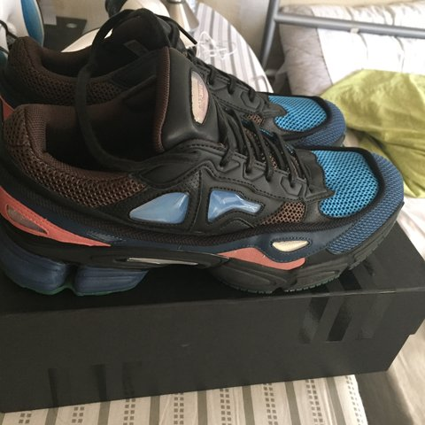 c497a0419c1e Selling Raf Simons x Adidas Ozweego 2 Kyogre. In good and UP - Depop