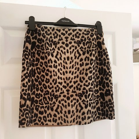 b4b9c5105f @klisterr. last year. Hull, United Kingdom. Faux suede Vera and Lucy leopard  print skirt ...