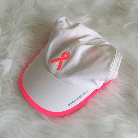 Under Armour breast cancer awareness hat    One size fits - Depop 01a291cef07