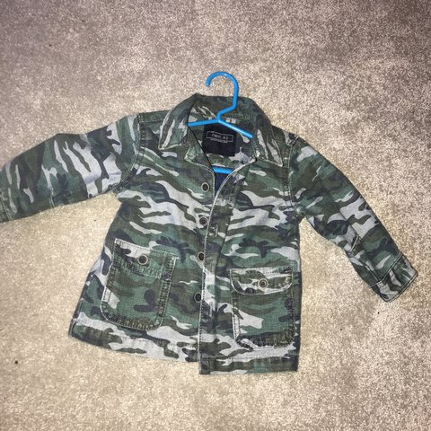 77db78502e223 @libby12. last year. Manchester, United Kingdom. Baby boy next camo jacket  size 9-12 months. Perfect condition.