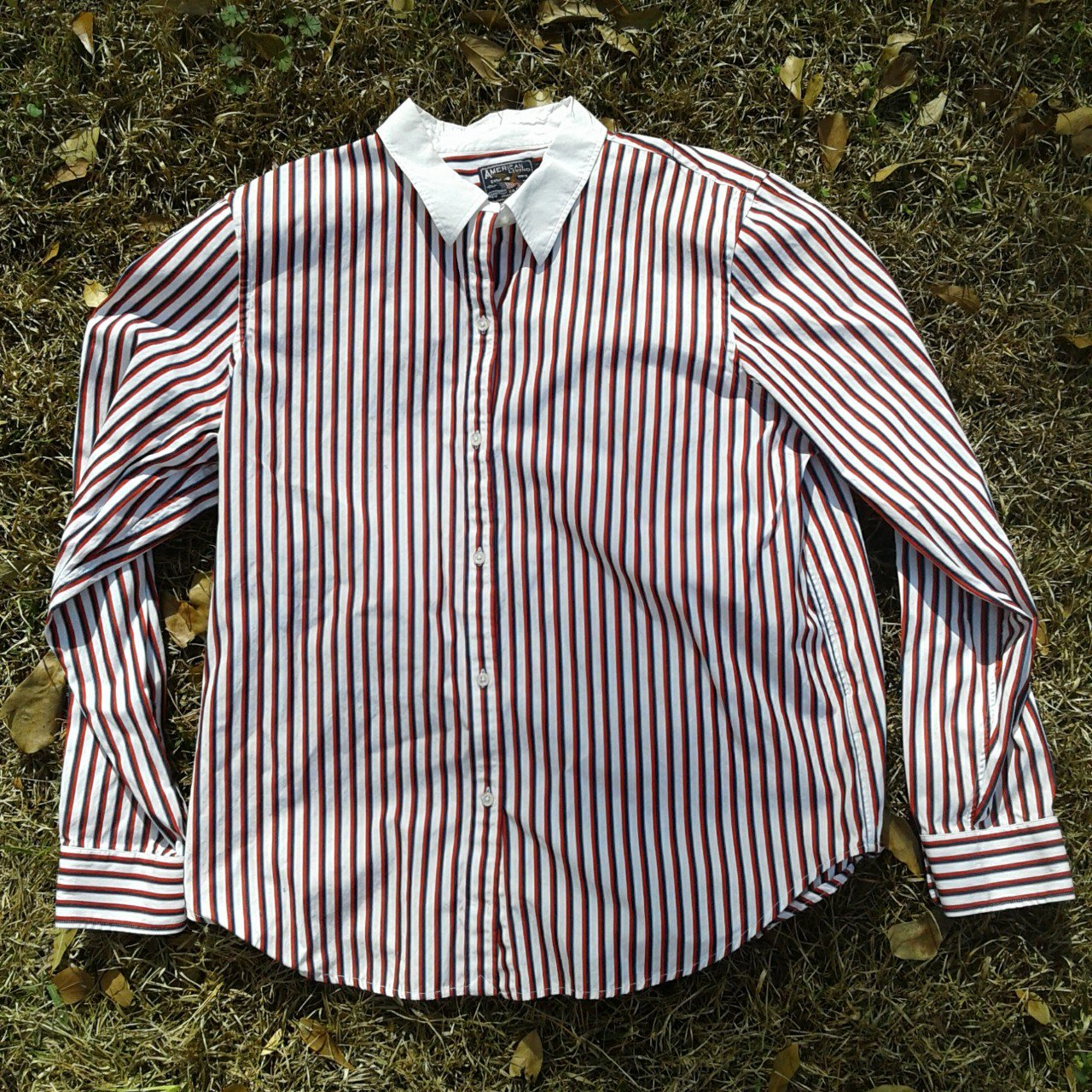 American Living Button Up Size Xl Chest Laying Flat For A Depop