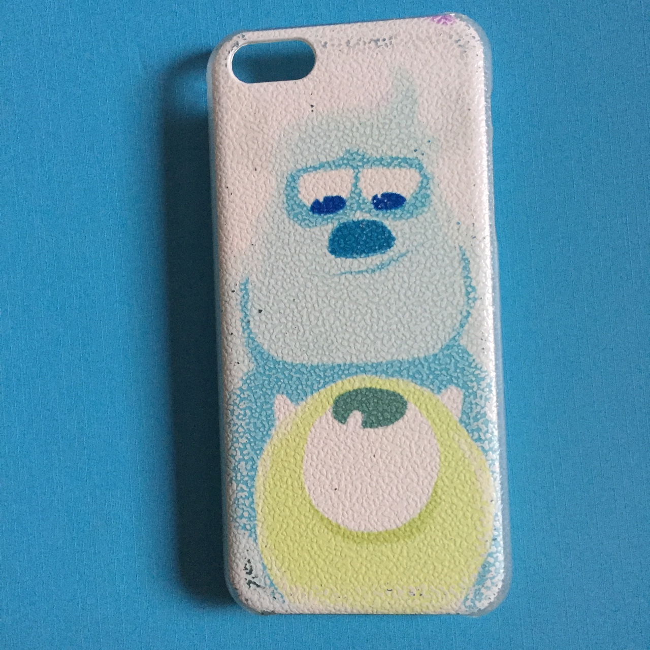 Iphone 5c Baby Monsters Inc Case Has Been Used So A Depop