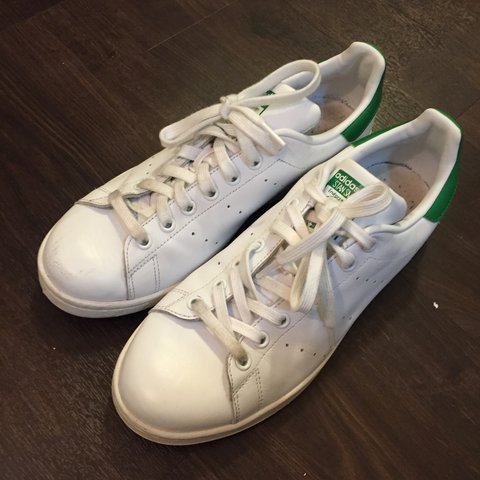 38d544a03a8 Lightly worn Stan Smith Adidas. Size 9.5. 50  OBO  stansmith - Depop