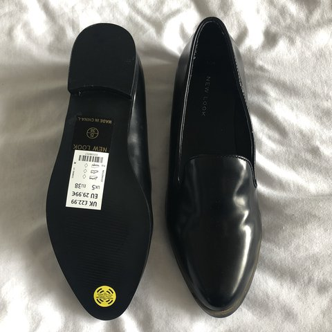 7c54ba2ea @0shannon. 15 days ago. Worthing, United Kingdom. New with labels black  gucci style loafers - size 5. Never worn