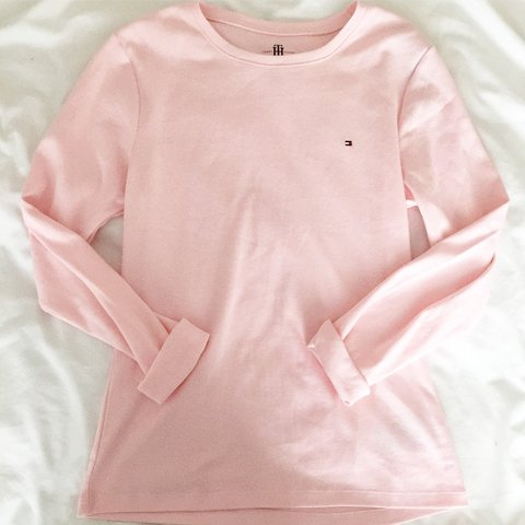 66f739c59 @adamoxford. 2 years ago. Stanford in the Vale, United Kingdom. Baby pastel pink  Tommy Hilfiger long sleeve ...