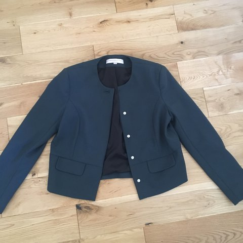 Dark Green Suit Jacket From French Connection A Great Work Depop