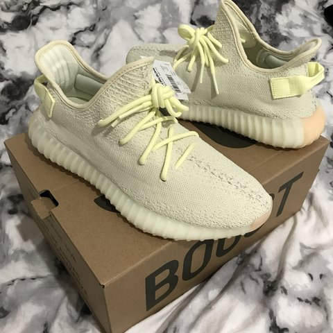 1e69d8958a7d2 NEED TO SELL   Yeezy Boost 350 V2 Butter UK 8.5 purchased - Depop