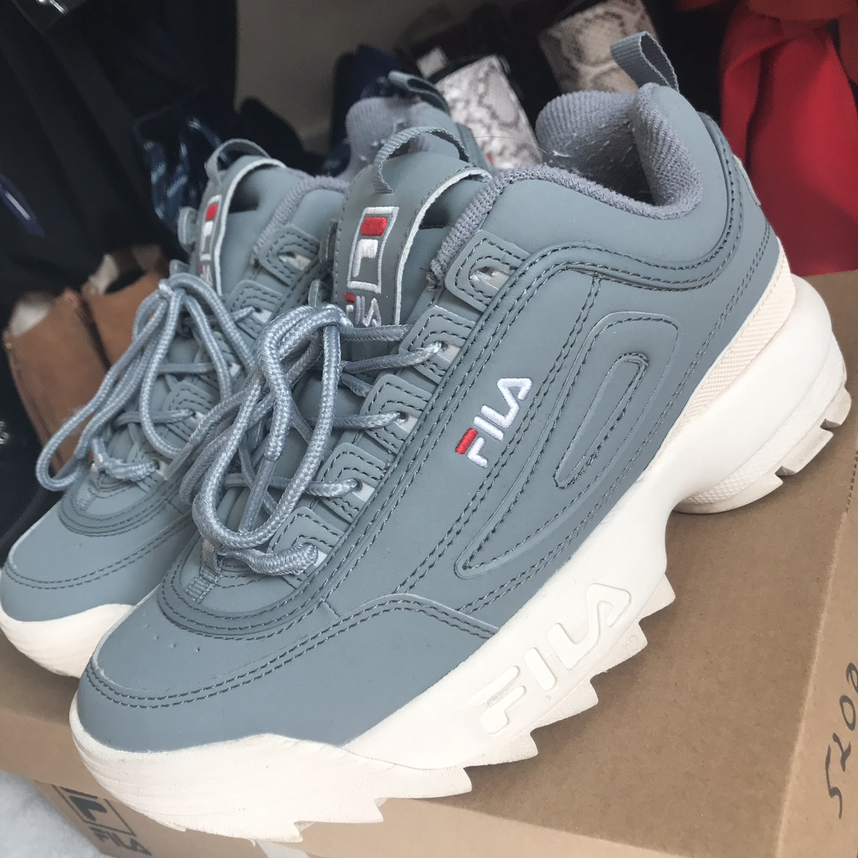 Fila Disruptor Monument blue / grey and