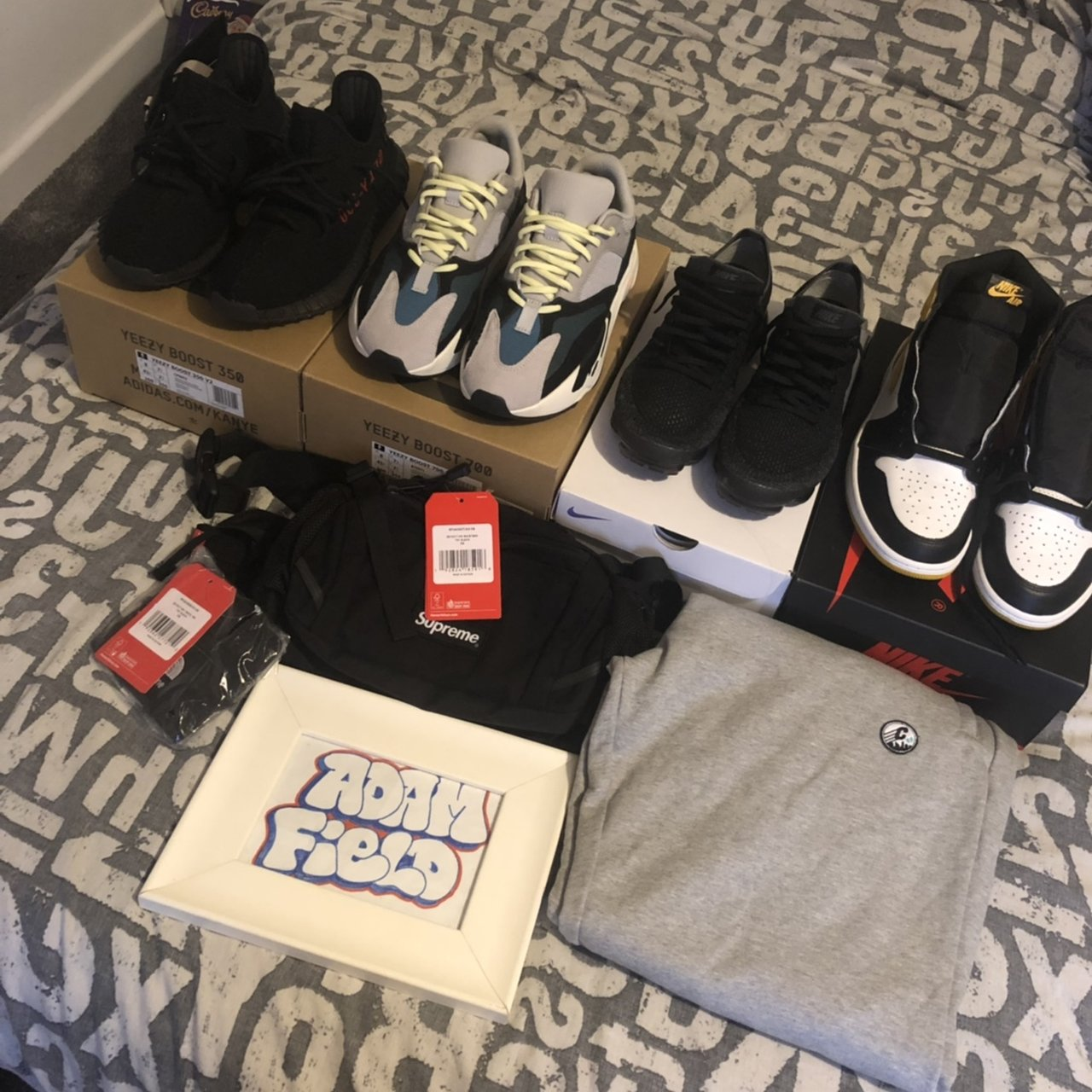 084ac12bf WTS a few clothes and some Uk7 9 shoes  Jordan 1 Yellow uk9 - Depop
