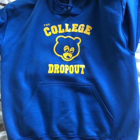 Kanye West Hoodie The College Dropout Depop