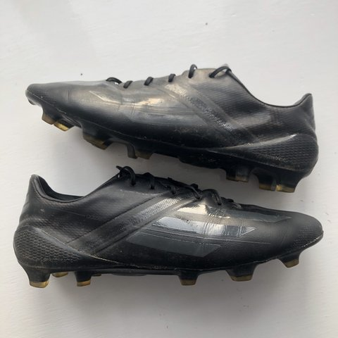 210e81b2b All black blackout Adidas f50 adizero football boots  Very - Depop