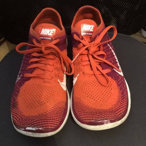 online store d00a0 07c5b  catherinefleck. 2 months ago. Cardiff, United Kingdom. Nike free flyknit  4.0 fly knit orange and purple ...