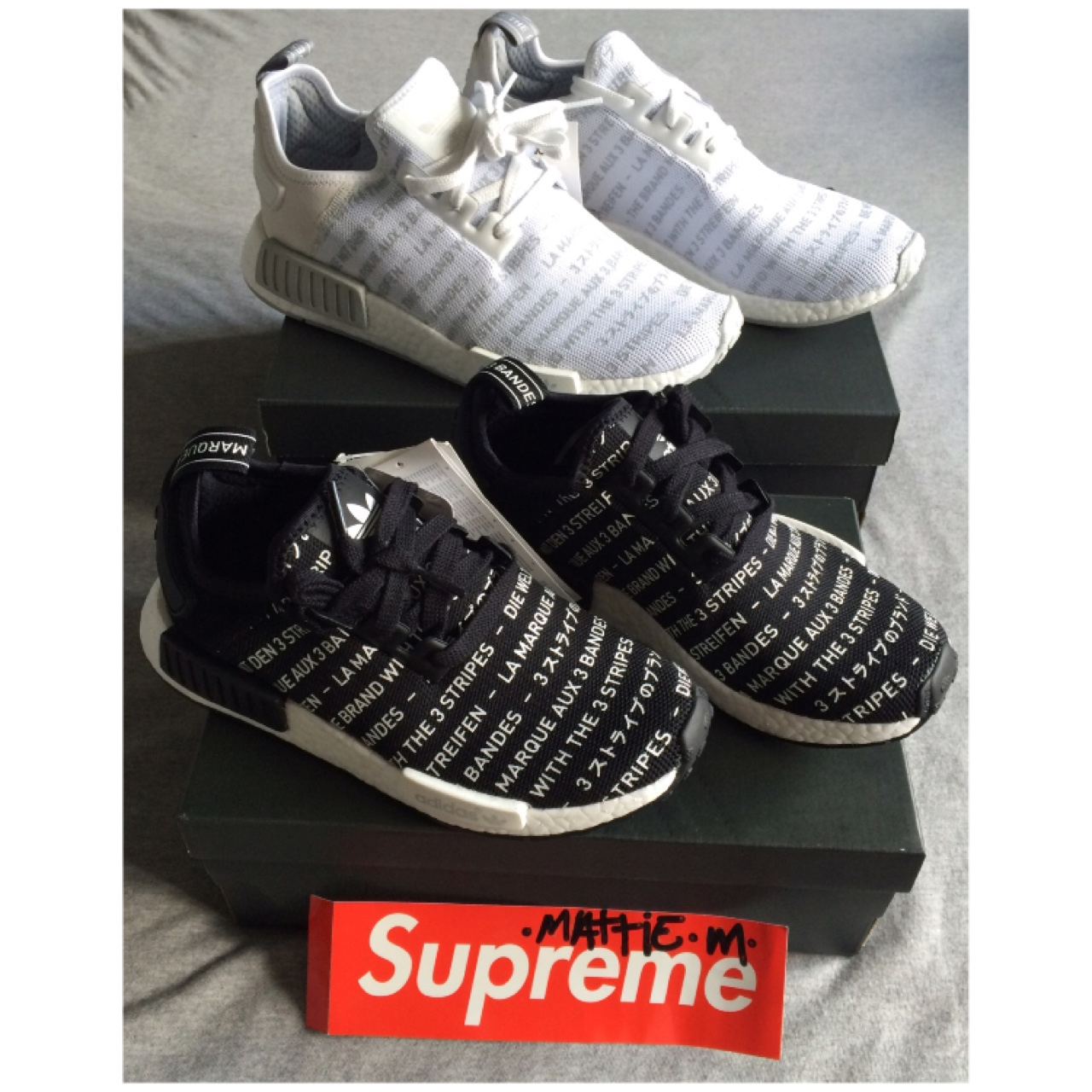 size 40 8fb4b a72b0 White nmds for sale £160 #deadstock #adidas #nmd... - Depop