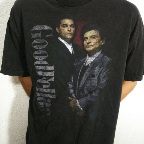 6a42877d17 @thewalkingthread. last year. Los Angeles, Los Angeles County, United  States. Vintage Goodfellas movie Shirt Size fits XL In very good condition