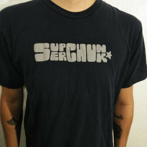 b95d008d9 Superchunk Band Shirt Size Large In very good $4 #oasis - Depop