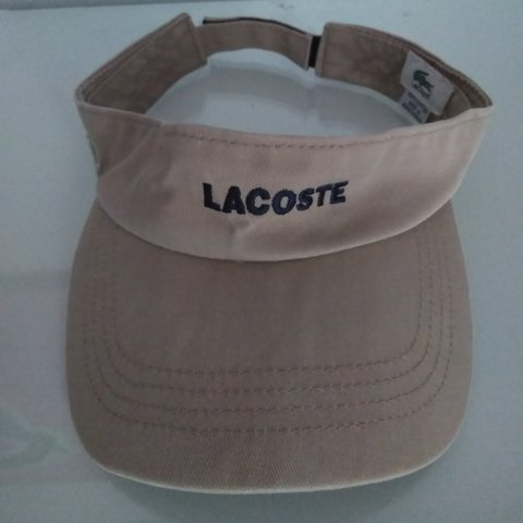 04d726524c9ca5 @armyant. 8 months ago. Terrell Hills, Texas, US. Genuine #Lacoste Sun # Visor. One size.