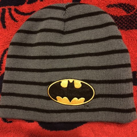 6d1b3acd38d Super cute Batman beanie!! I love it so much great for  hat - Depop