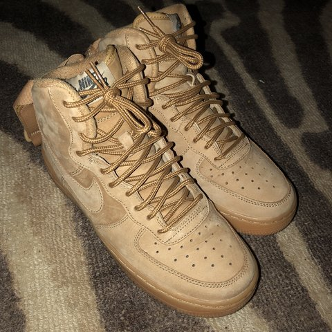 Air Force Wheat 1s 6y 8.5 women s - Depop 6e2ec53fa