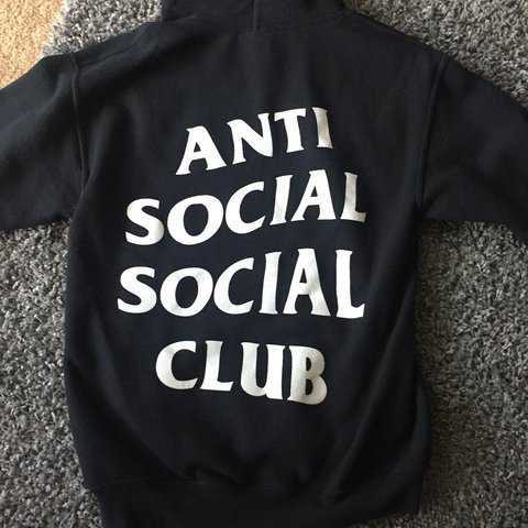 456be242b762 Anti social social club hoodie. Not sure if it s authentic