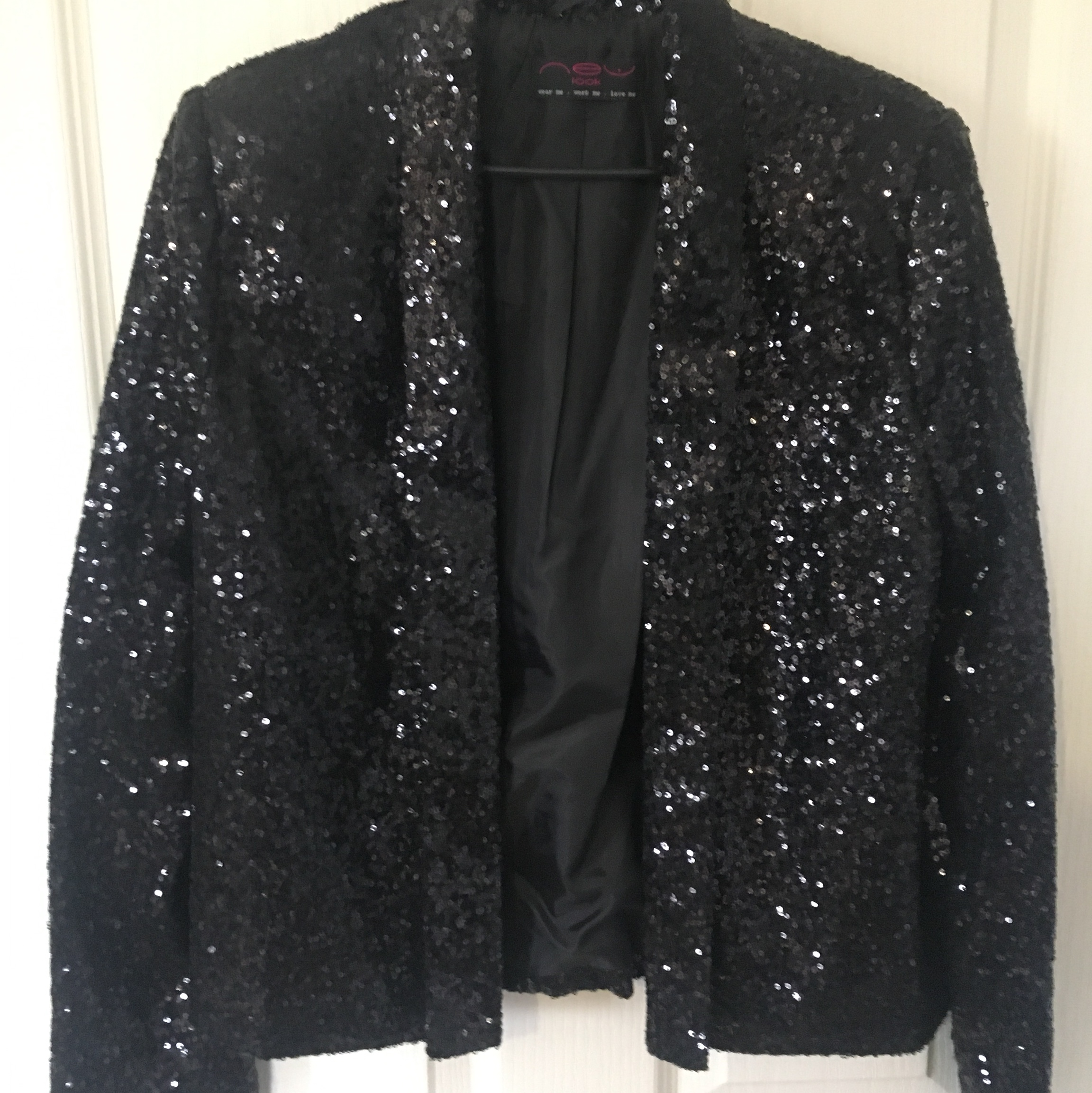 beautiful style best first rate New Look sequin blazer. Few sequins missing, but not ...