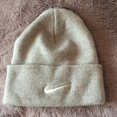 55d49bca02d Unisex Nike beanie hat Worn a couple of times One size is £2 - Depop