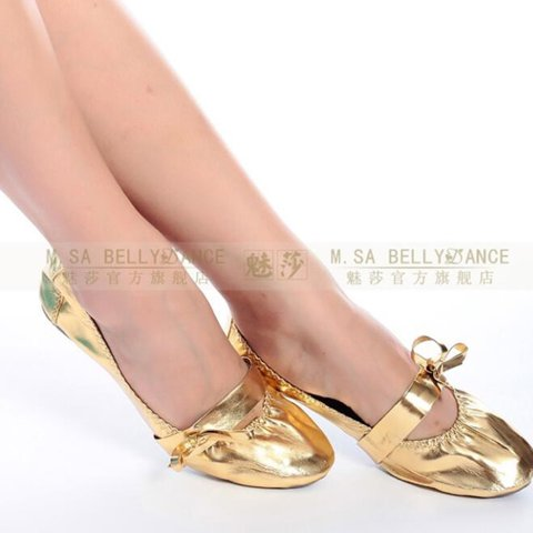 8f75683aa Belly dancing shoes Square Dance Shoes Latin dance shoes The - Depop