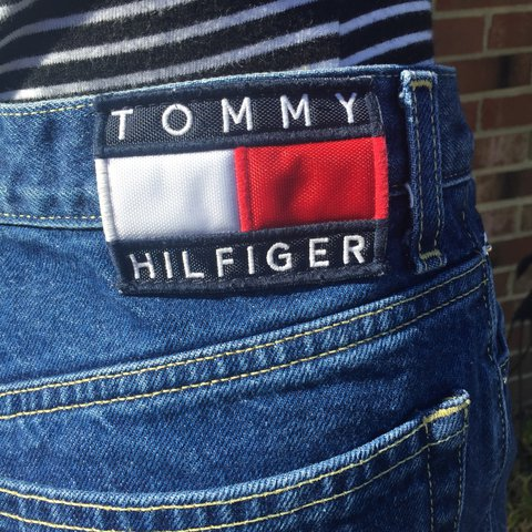 73a968be @islandkay. 2 months ago. Virginia Beach, United States. PRICE DROP!! TOMMY  HILFIGER MOM JEANS ...