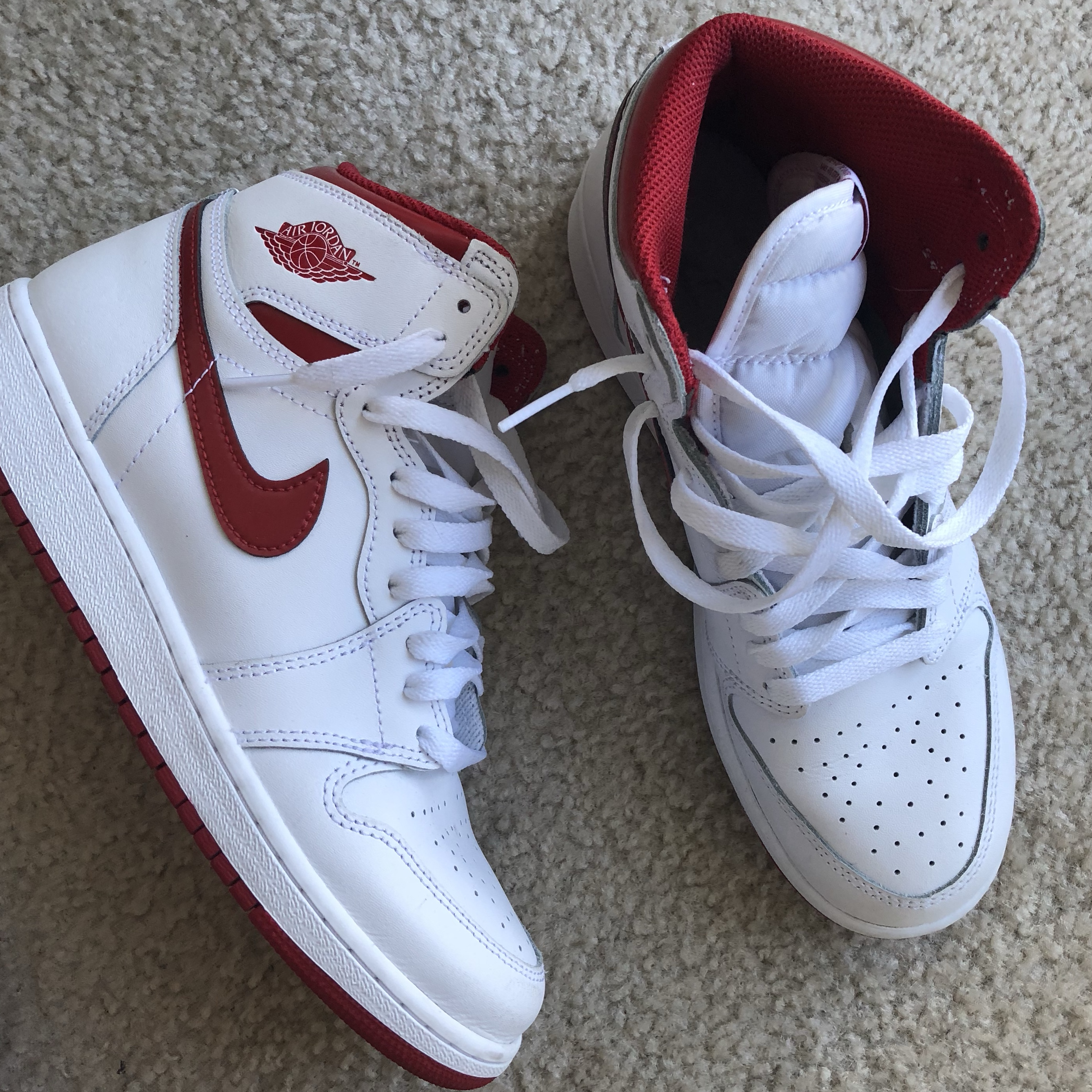 air jordan 1s, only used these once or