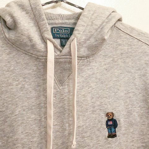 dc70031bc1d6 2013 Polo Ralph Lauren teddy bear hoodie! Made with soft
