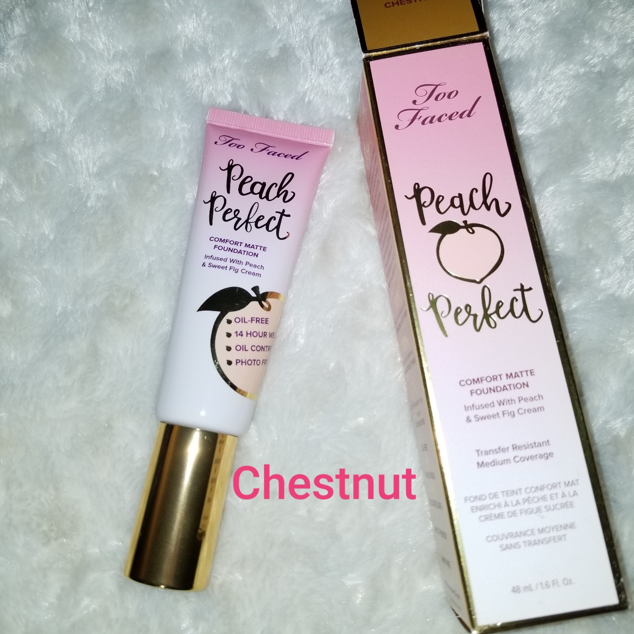 Too faced Peach Perfect Foundation The price listed... - Depop