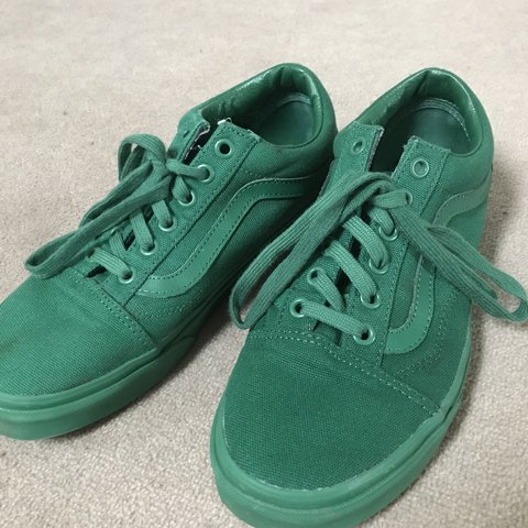 c4c5ee111a Vans Old Skool Verdant Green Size UK 5 Like new condition