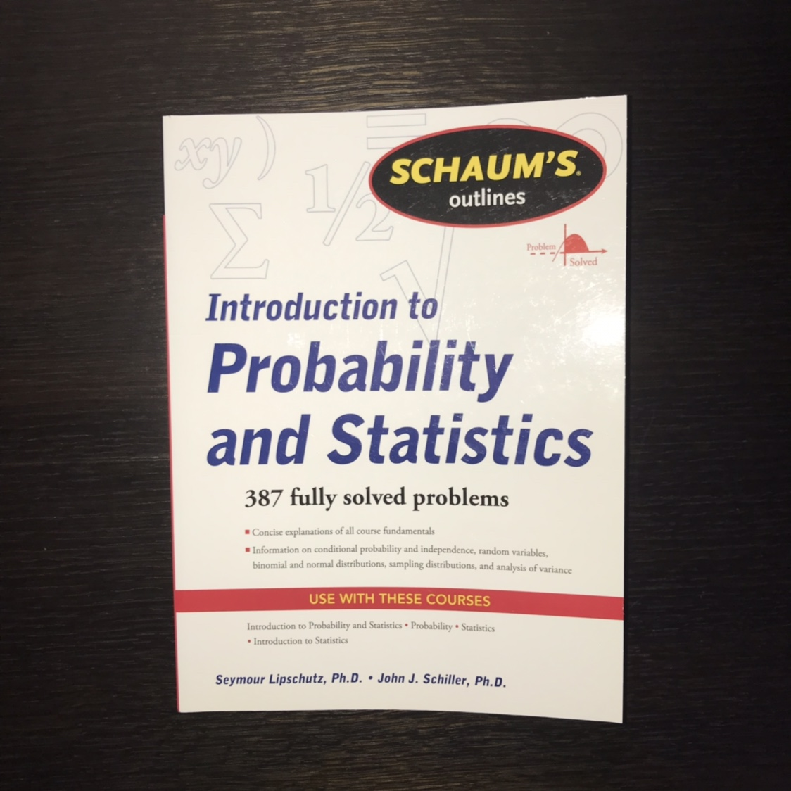 Schaum's Outline of Introduction to Probability and    - Depop