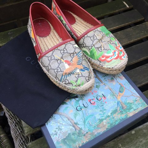 873191e50e5 Gucci espadrilles -size 37 -comes with dust bag