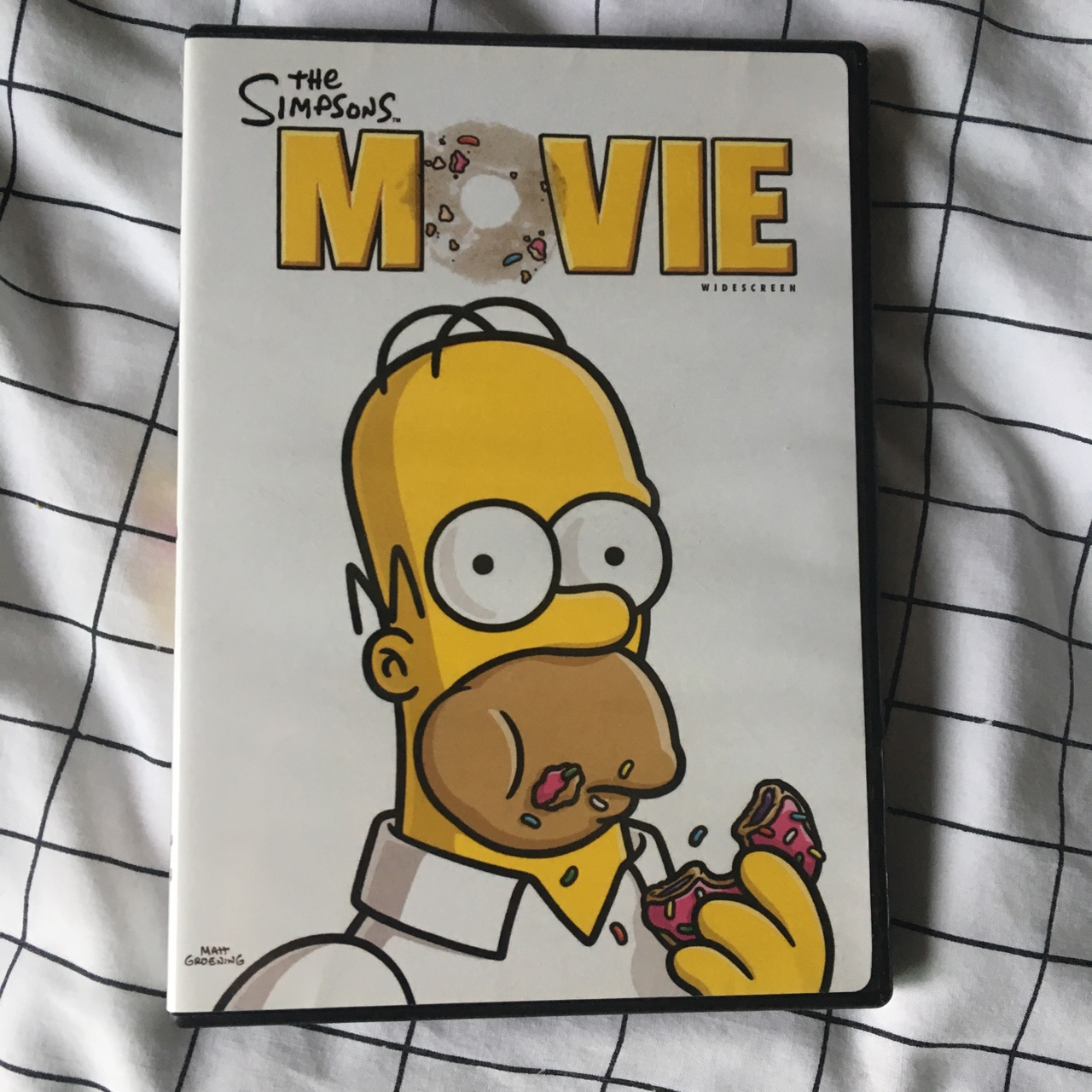 The Simpsons Movie Dvd 2007 Free Shipping Depop