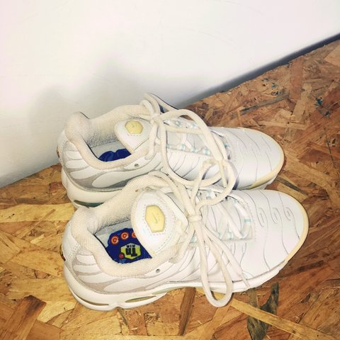 watch 2c515 9241e 🔥🔥 COCAINE WHITE RARE NIKE TN AIR MAX 97 TRAINERS    🌴 3 - Depop
