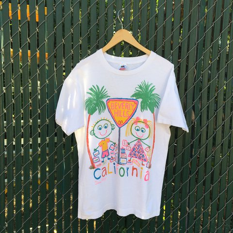 b112fa71 @1980somethingco. 2 years ago. Los Angeles, United States. Vintage 90s  Danny First Beverly Hills, California T shirt.
