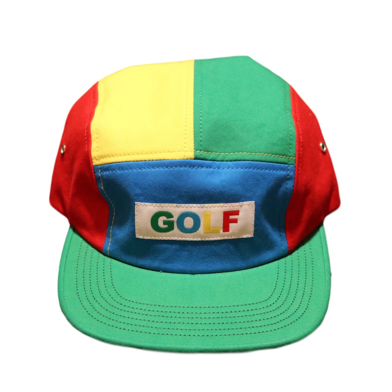 GOLF WANG multi color camp hat. DS condition. brand new  45 - Depop 24f4cfd6ac7