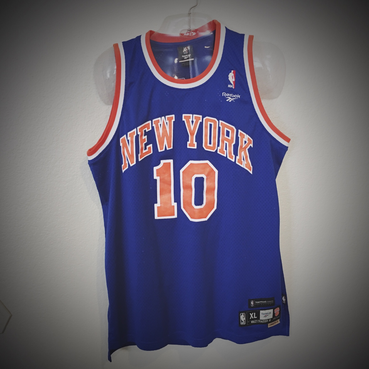 huge discount d4ff3 2bc27 New York Knicks Retro Reebok NBA Hardwood Classics ...