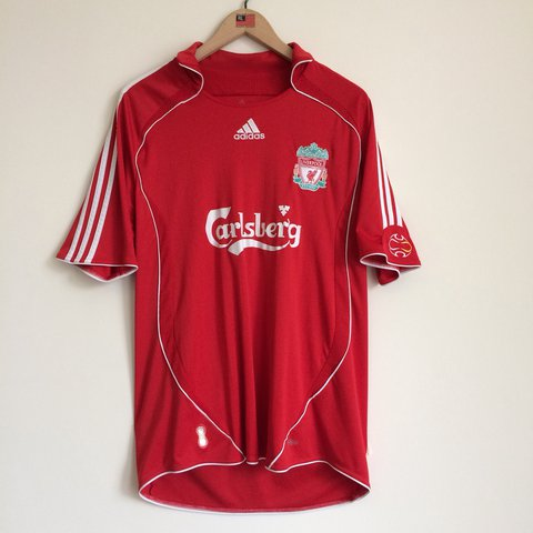 1a29716d8c6  eastburn9000. last year. United Kingdom. Vintage Liverpool FC Adidas  football shirt ...