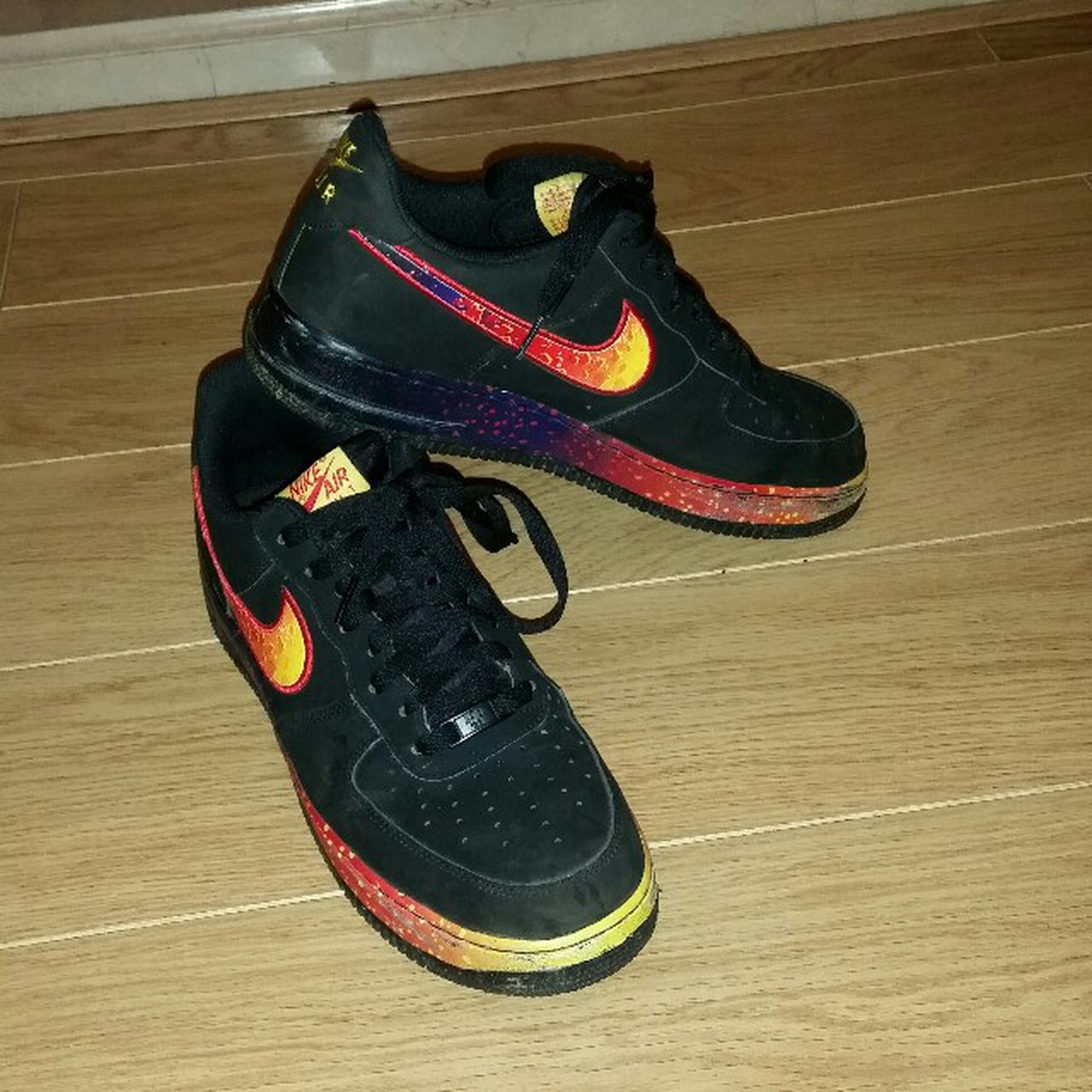 8e366567132 Nike air force asteroid rare message me with reasonable depop jpg 1280x1280  Nike af1 asteroids
