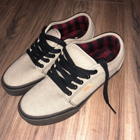 e6f97a5788f1 Vans Ultra Crush khaki beige tan colored shoe! These are two - Depop