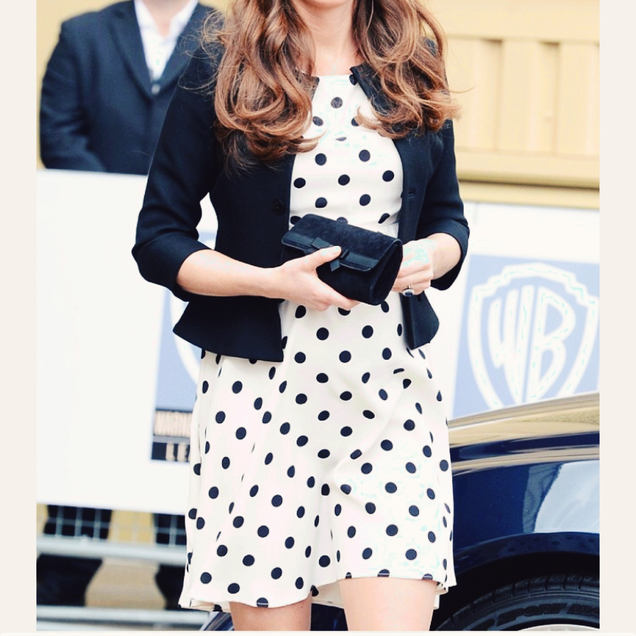 Topshop polka dot dress as worn by katemiddleton not maternity size topshop polka dot dress as worn by katemiddleton not maternity size 10 worn once depop ombrellifo Gallery