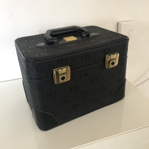 aea82ac82d @chhia_ra. 4 months ago. Ludwigshafen, Deutschland. Vintage Christian Dior  Beauty case/bag/suitcase