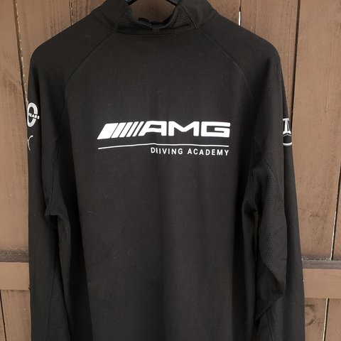 bc9a9c644b3 @mdubose1. 2 months ago. Lawrenceville, United States. Puma Mercedes AMG  Driving Academy fleece jacket🔥 Great condo practically brand new ...