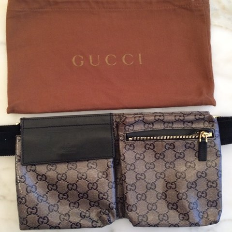 e6bc1c2d24eb @jbop. 2 years ago. Montreal, QC, Canada. Gucci waist pouch/fanny pack in  leather, excellent condition.