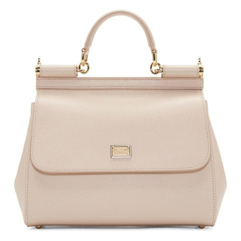 197baaae031ee Dolce   Gabbana Medium Sicily bag in nude. Brand new