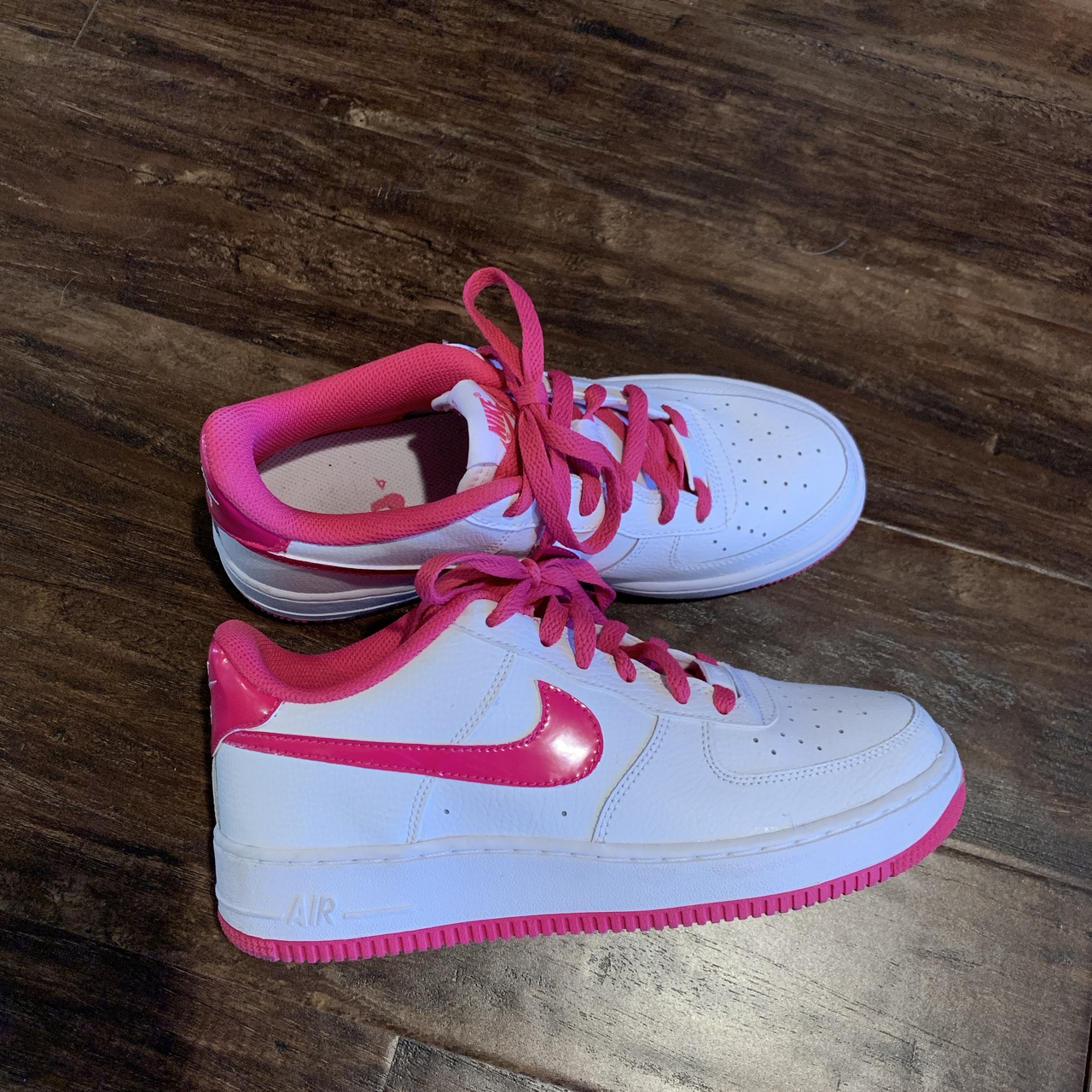 hot pink air force 1